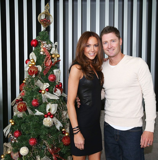 Michael Clarke Spouse