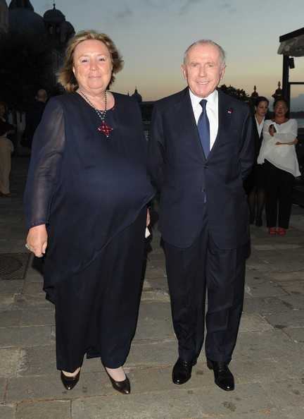 Francois Pinault  Wife
