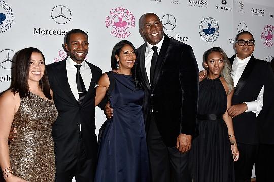 Magic Johnson Family