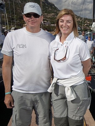 Niklas Zennstrom with his Wife Catherine