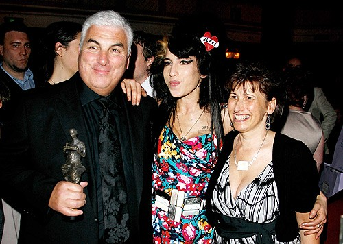 Amy Winehouse with Parents