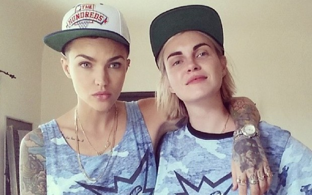 Ruby Rose With Partner Phoebe