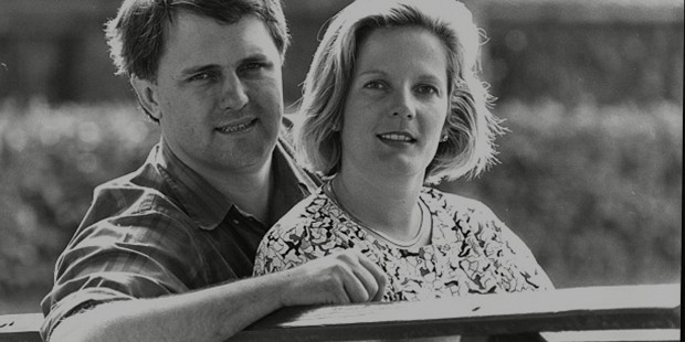 Malcolm Turnbull and his wife Lucy before politics