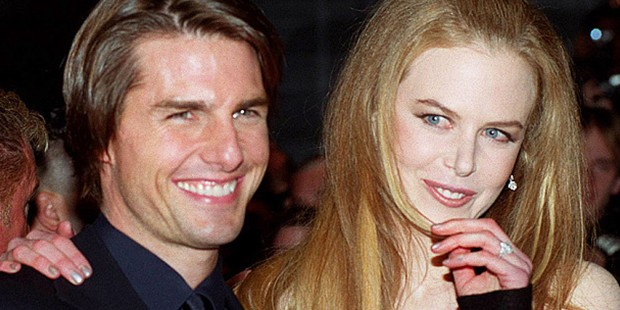 Nicole with her first husband Tom Cruise
