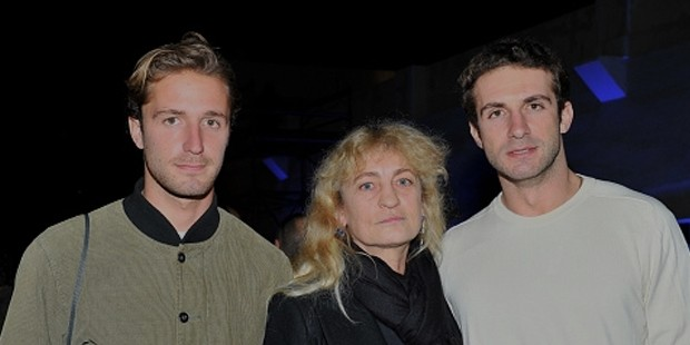 Philip Niarchos Wife And 2 Sons