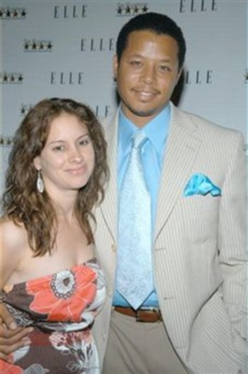 Terrence Howard  with His First Wife Lori McCommas