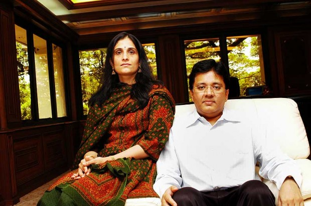 Kalanithi Maran With His Wife Kaveri Maran