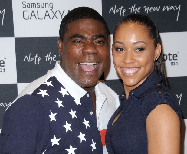 Tracy Morgan with his Wife Megan Wollover
