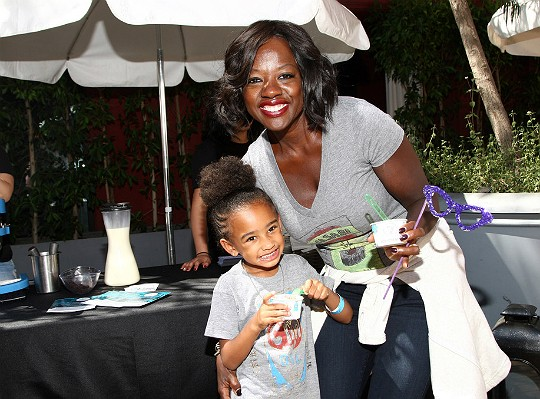Actress Viola Davis and Daughter Genesis Tennon
