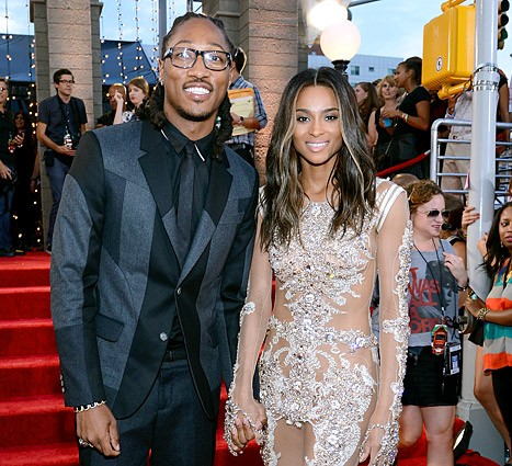 Future (rapper) With Present Partner Ciara