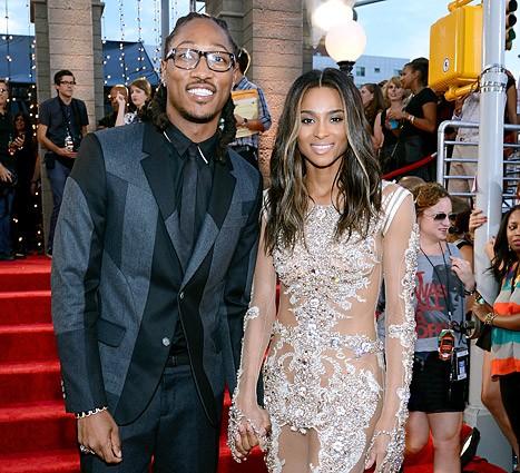 Future (rapper) With Present Partner Ciara