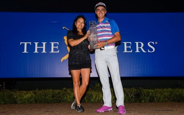 Rickie Fowler with His Mother lynn fowler