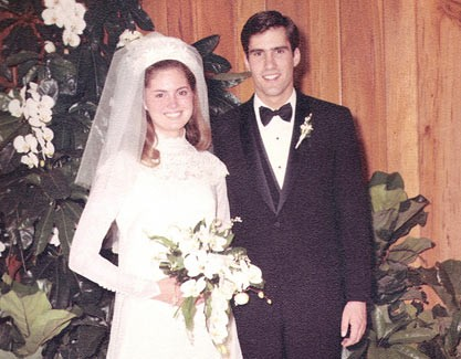 Ann Romney With  Mitt Romney Wedding Pic