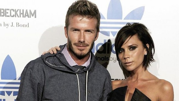 Victoria Beckham With her Husband David Beckham