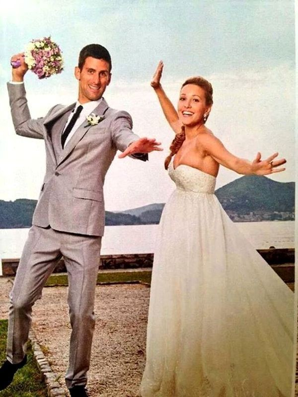 Novak And Jelena Djokovic Wedding