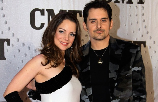 Brad Paisley With his Wife Kimberly Williams Paisley
