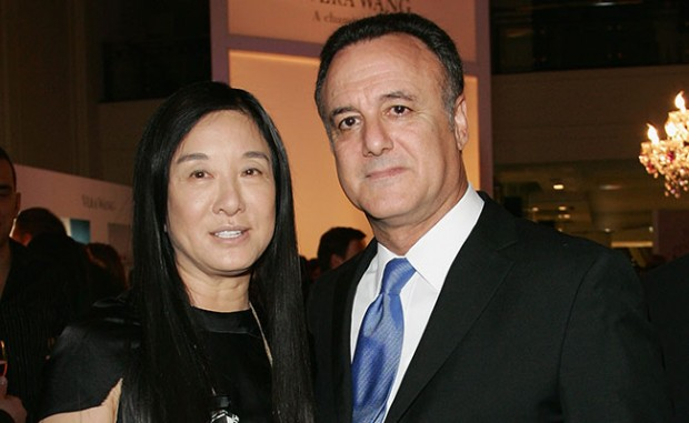 Vera Wang With His Ex-Husband Arthur becker
