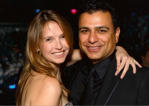 Omid Kordestani With His Present Wife Gisel Hiscock