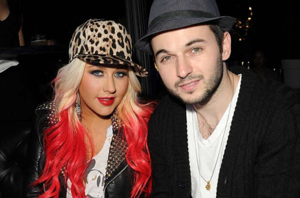 Christina Aguilera With Fiance Matthew Rutler