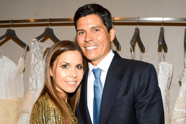 Monique Lhuillier With His Husband Tom Bugbee