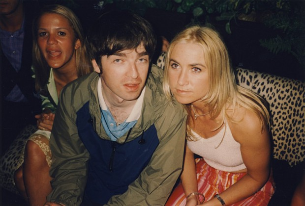 Noel Gallagher with His First Wife Meg Mathews