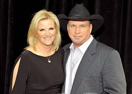 Garth Brooks With his Wife Trisha Yearwood