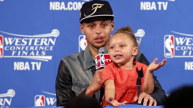 Stephen Curry Daughter