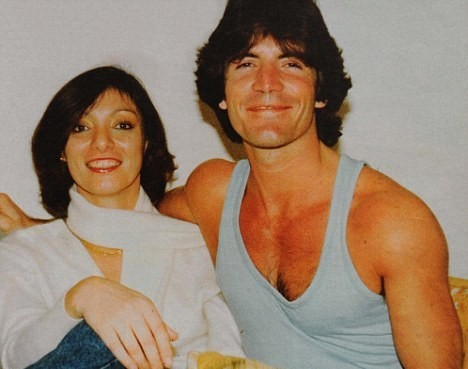 Simon Cowell with His sister June