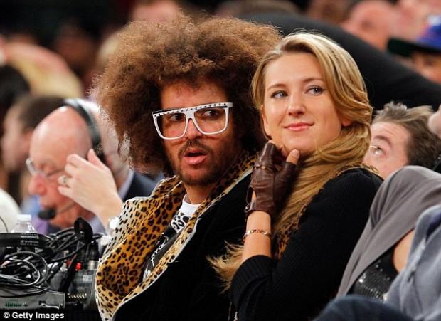 Victoria Azarenka with her Boyfriend Redfoo