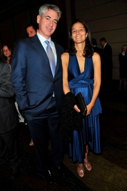 Bill Ackman with his wife Karen Ackman