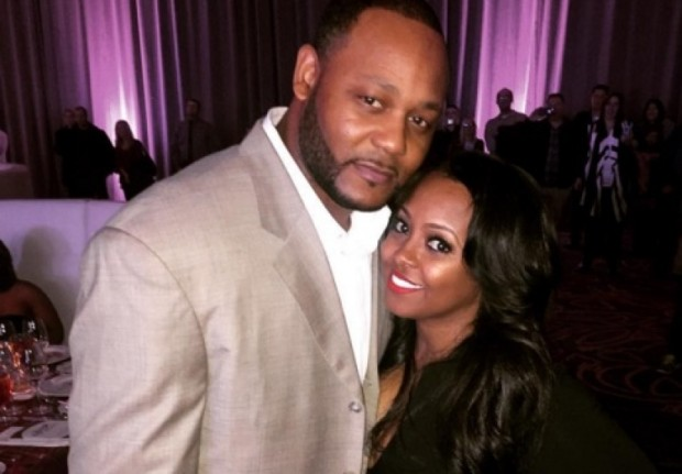 Keshia Knight Pulliam with her husband Ed Hartwell