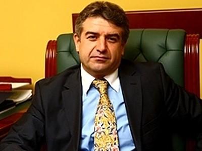 Samvel Karapetyan's brother Karen Karapetyan