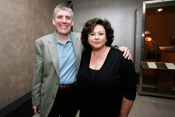 Rick Riordan with his wife Jeanne Mosure