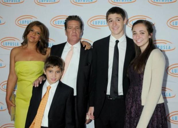 Glenn Frey and his Family