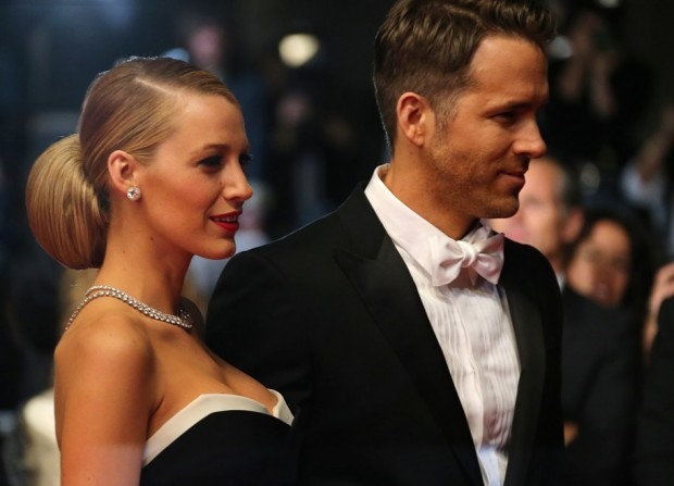 Ryan Reynolds and his wife Blake Lively
