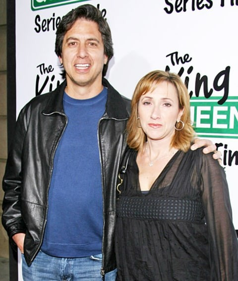 Ray Romano with His Wife  Anna Scarpulla