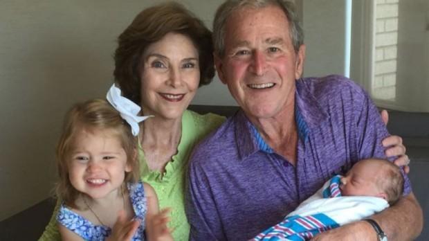 Laura Bush Family