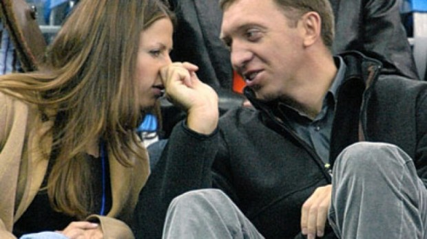 Oleg With His Wife