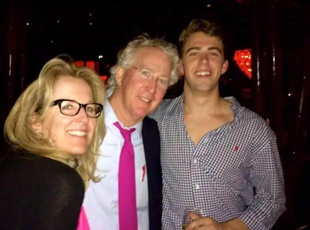 Aubrey McClendon With His Family