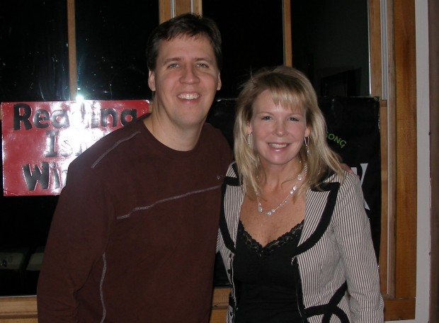 Jeff Kinney with His Wife Julie Kinney