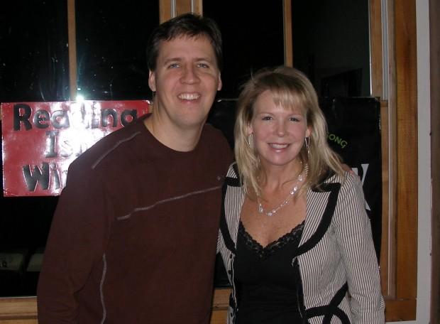 Jeff Kinney with His Wife Julie Kinney
