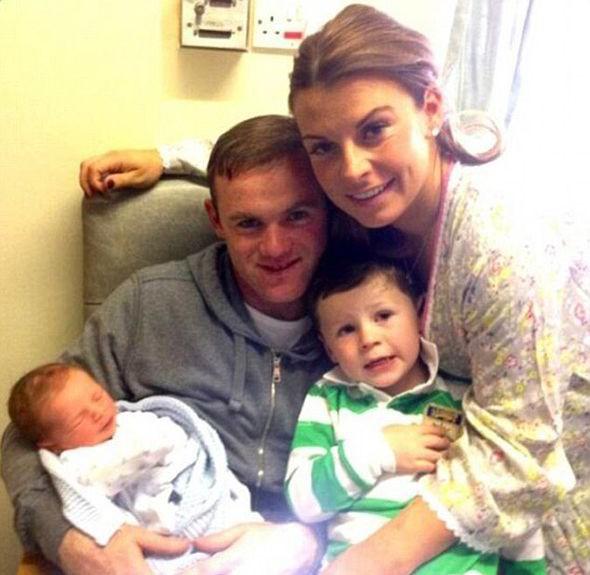 Wayne Mark Rooney Family