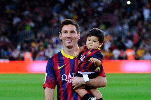 Lionel Andres Messi Son