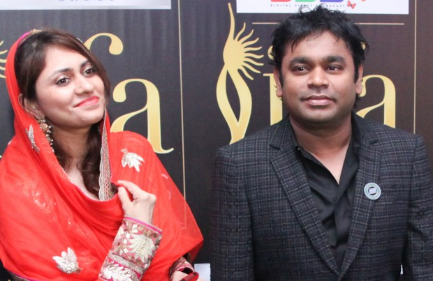 A. R. Rahman and His Wife Saira Bhanu