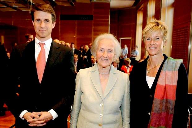 Susanne Klatten Family