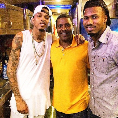 August Alsina With Brother