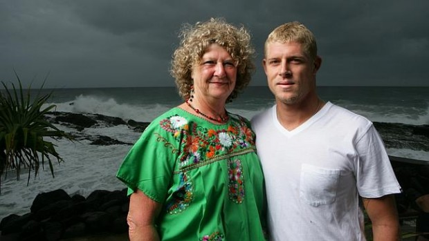 Mick Fanning Mother