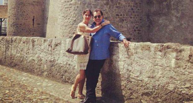 Joan Sebastian With Last Wife Alina Espino