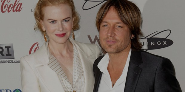 Nicole with her husband Keith Urban