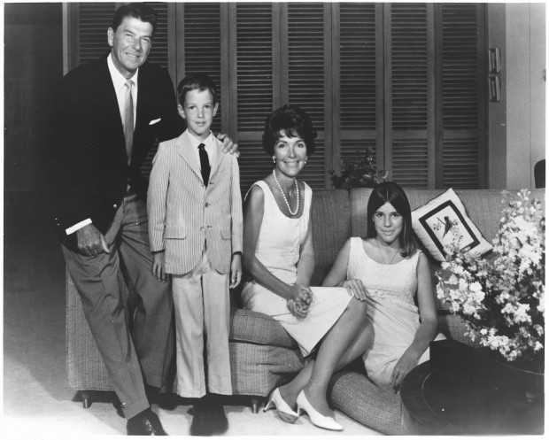 The Reagan Family in 1967